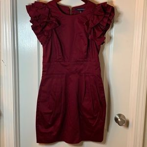 French Connection | Wendy Ruffle Dress NWOT